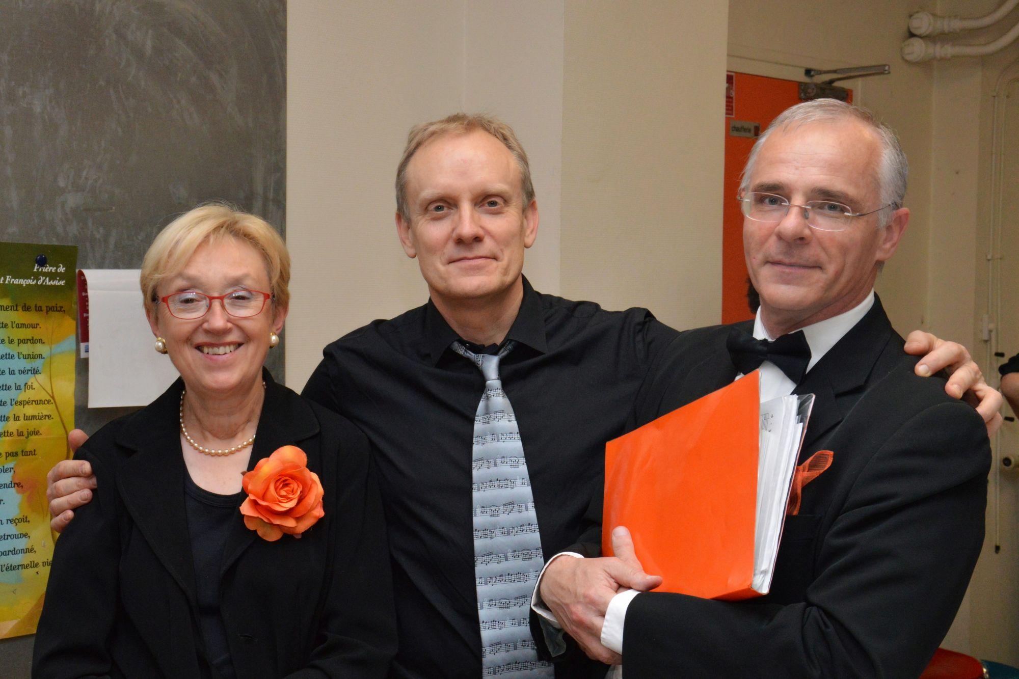 Les trois chefs de chœur