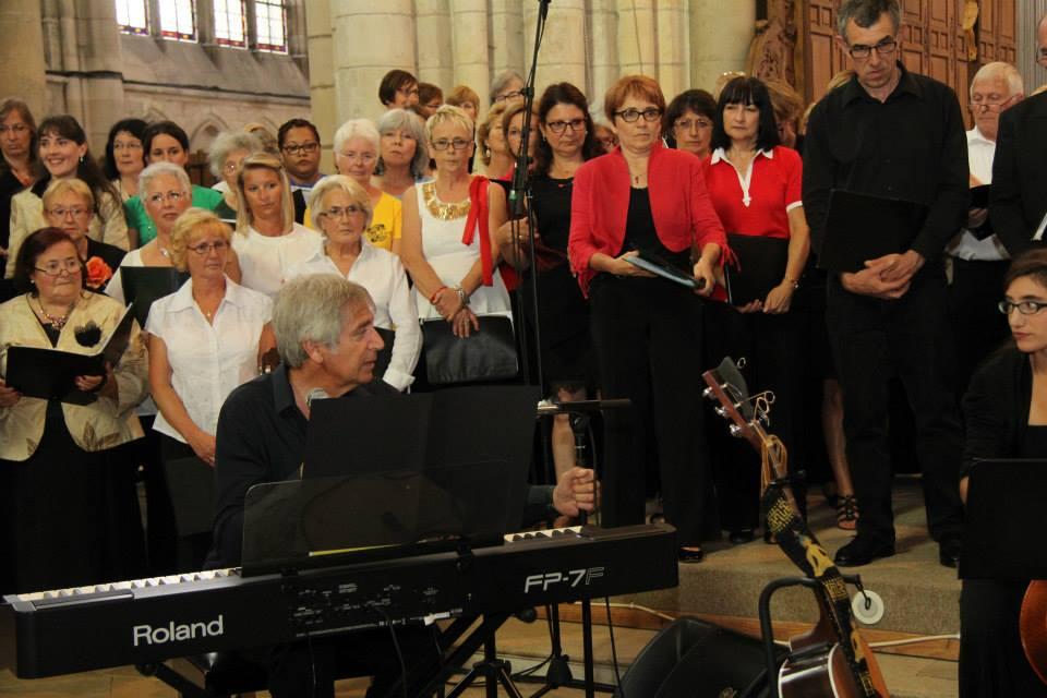 Yves Duteil au piano