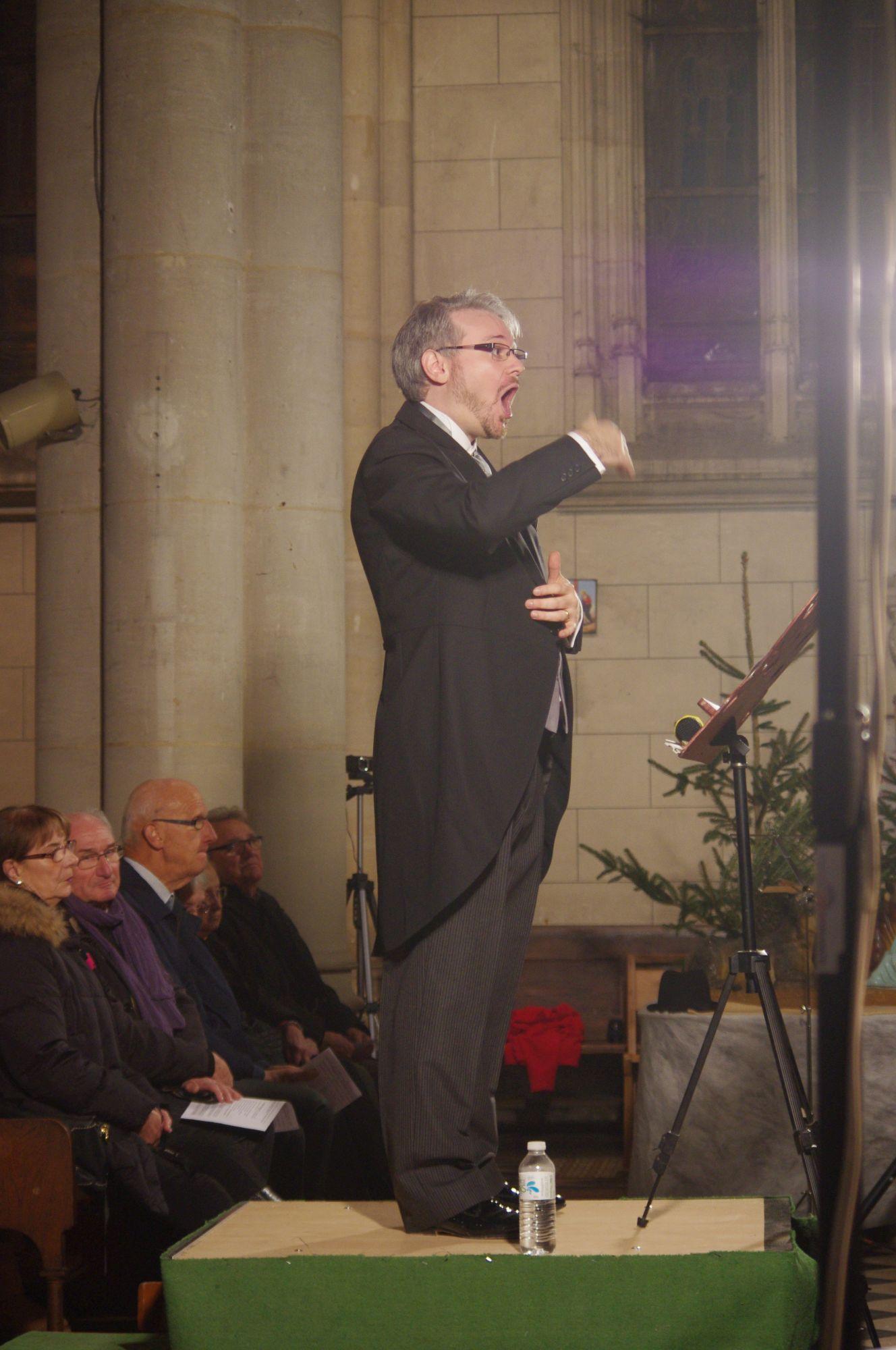 Sébastien Vauclin dirige L'OISEAU LYRE