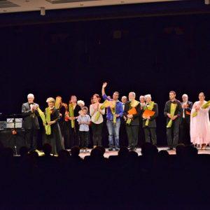 Une fin de concert très applaudie !
