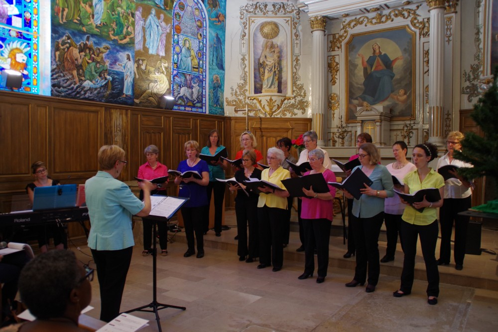 """""""Gabriellas Lied"""", chant suédois pour 3 voix de femmes, dirigé par Marie-Jo Roturier"""