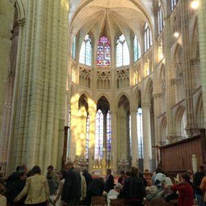 Fin du concert pour la Paix à la cathédrale de Meaux