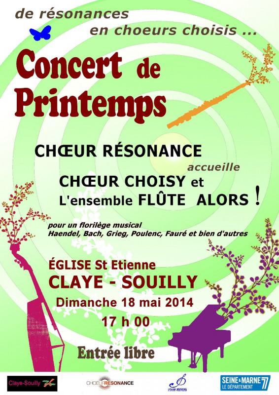 2014 05 18 Affiche du concert