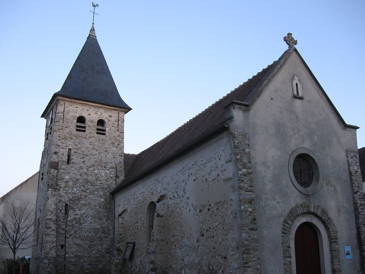 L'église de Carnetin