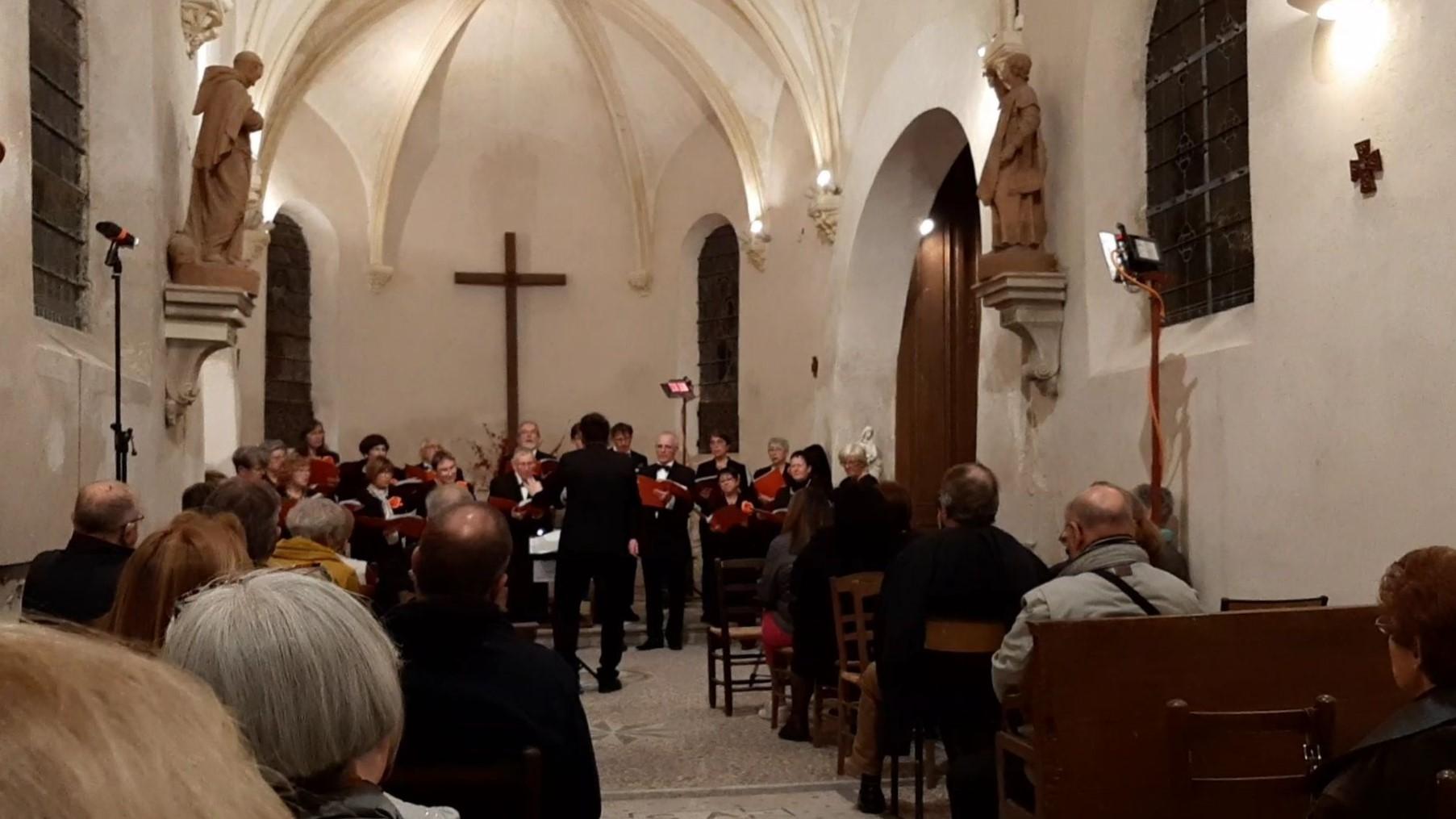Le Chœur Résonance au concert de Carnetin 1