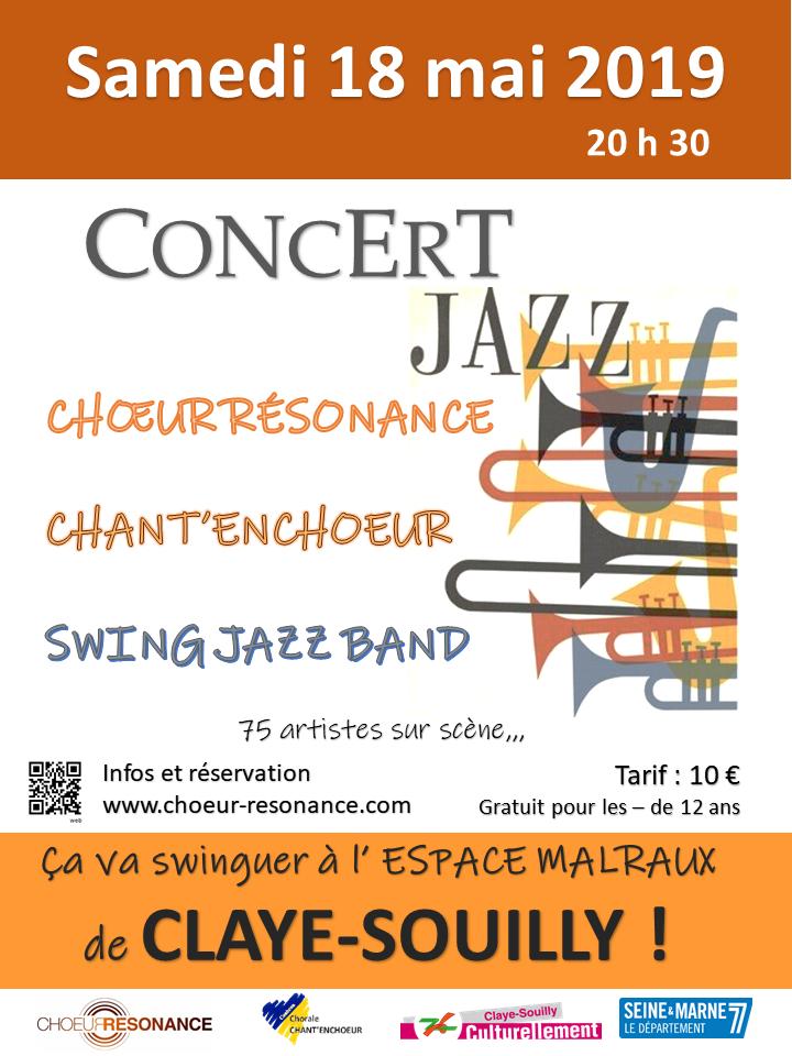 affiche concert jazz