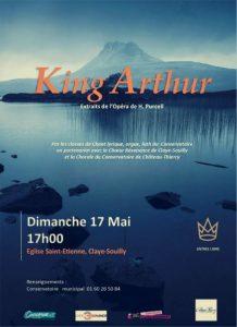 KING ARTHUR : Voix, Luth et Orgue...